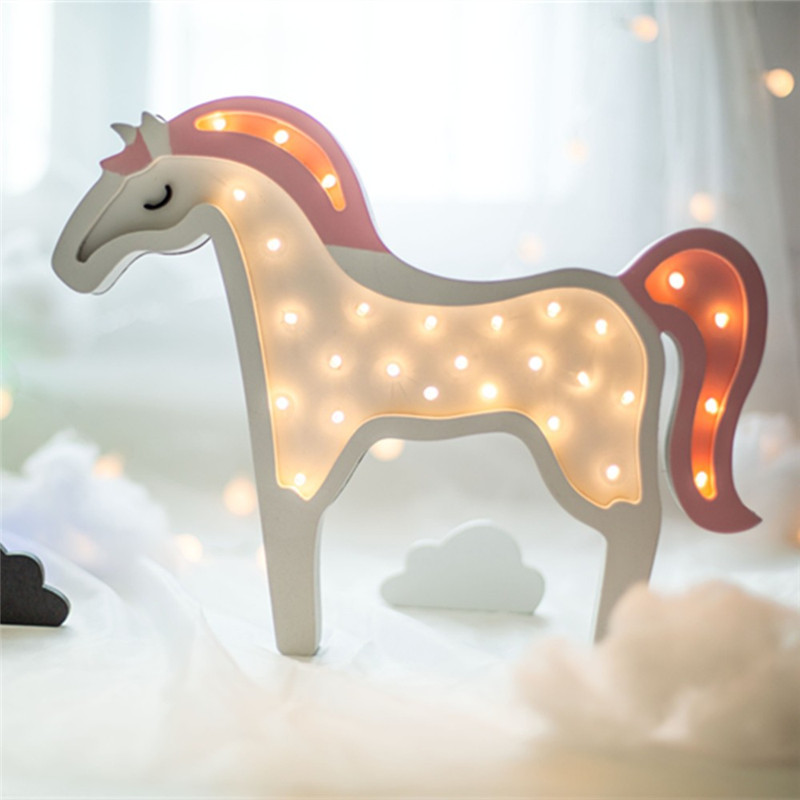 Unicorn Horse Marquee Light - Mango People - Mangopeople.biz